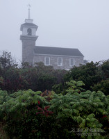 Star Island, Isles of Shoals, Foggy Morning